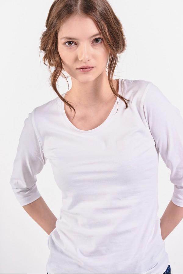 Koszulka z rękawem o długości ¾