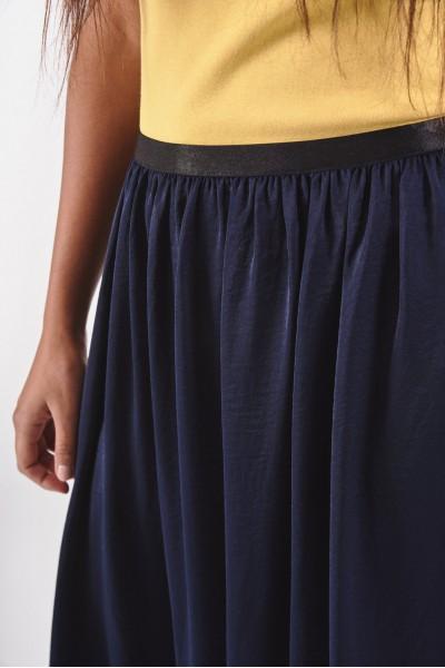 Zwiewna spódnica maxi