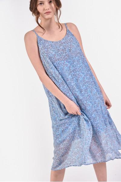 Zwiewna sukienka na...