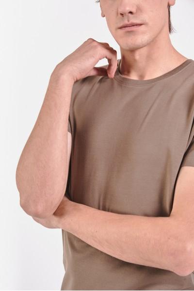 Bawełniana koszulka z domieszką elastanu