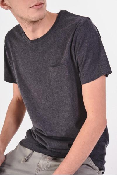 Melanżowa koszulka z...