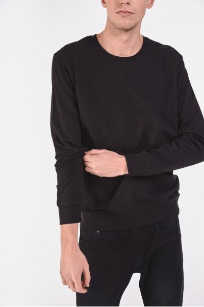 Gładka bluza ze ściągaczami