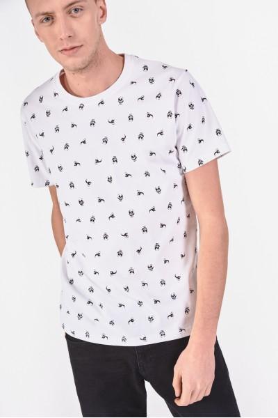 Bawełniana koszulka w...