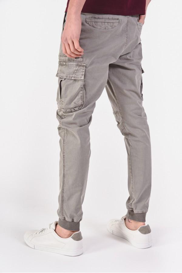 Joggersy z nogawkami zakończonymi ściągaczami