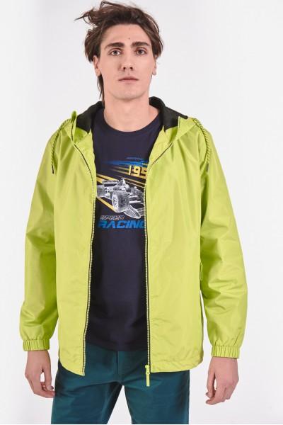 Limonkowa kurtka przejściowa