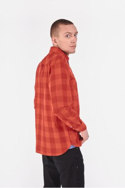 Bawełniana koszula slim w szeroką kratę