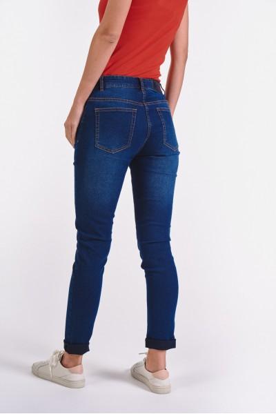 Dopasowane spodnie dżinsowe