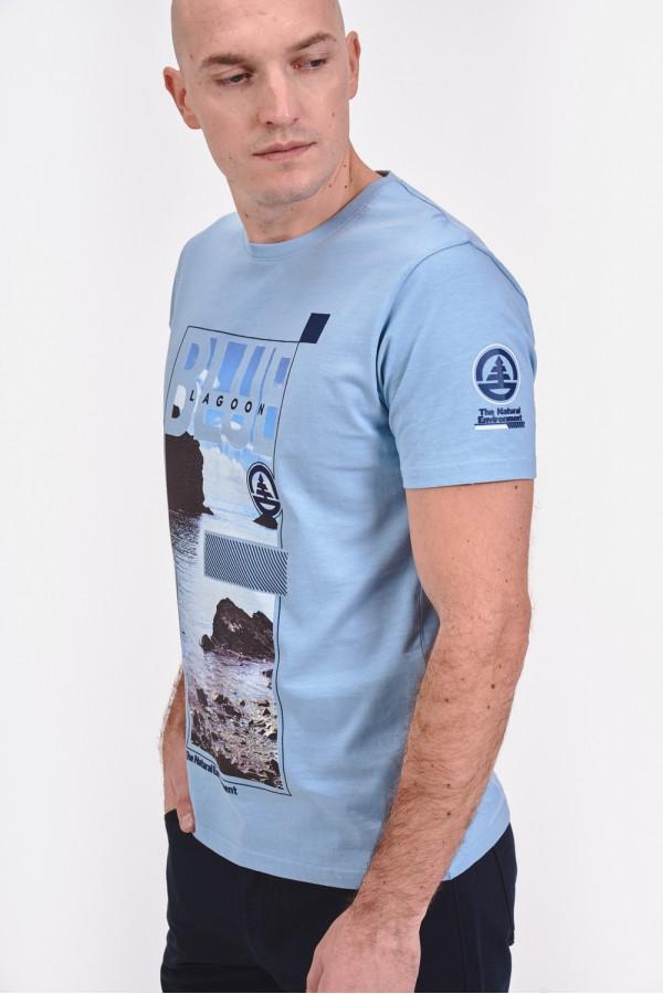 Bawełniana, wakacyjna koszulka