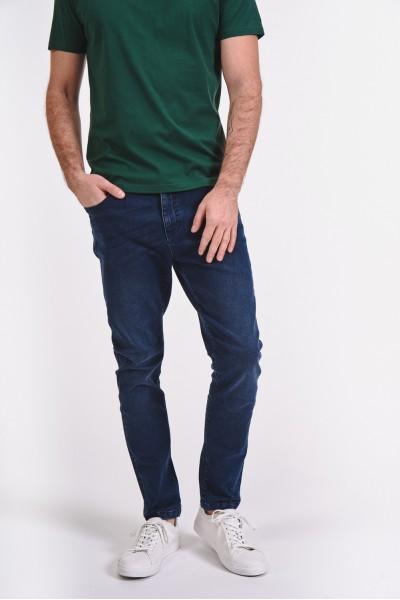 Klasyczne jeansy z ciemnego...