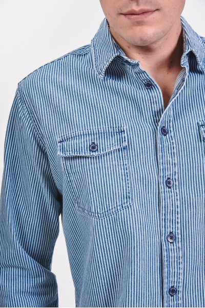 Koszula regular w pionowe paski
