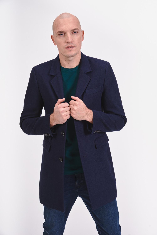 Dopasowany płaszcz z podszewką