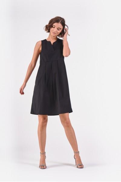 Bawełniana sukienka bez rękawów