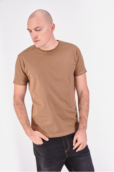 Koszulka z melanżowego materiału