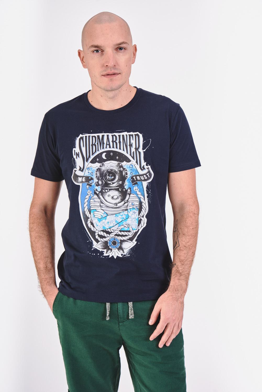 T-shirt z motywem nurkowania