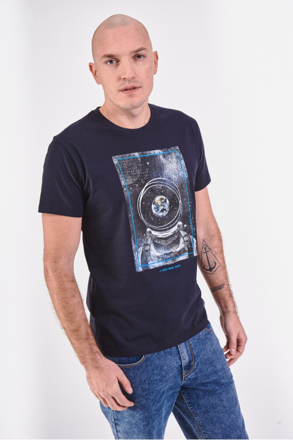 Bawełniana koszulka z astronautą