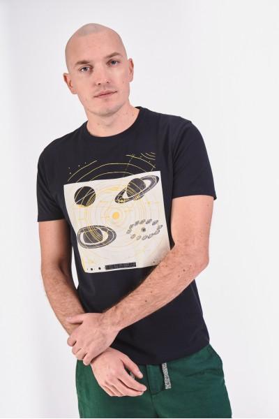 Koszulka z planetami