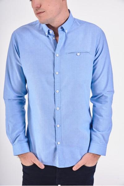 Błękitna koszula slim