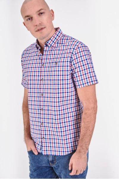 Koszula regular z krótkim...