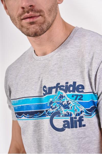 Koszulka z falą morską