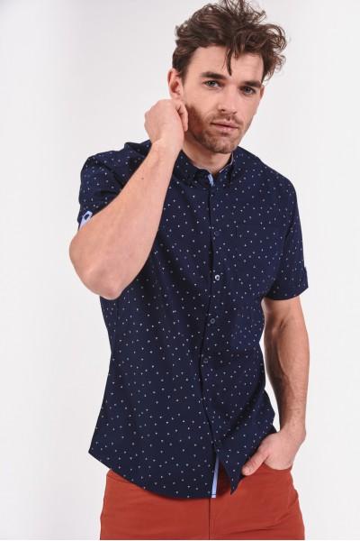 Koszula regular z lekko...