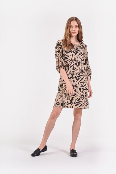 Sukienka w palemki