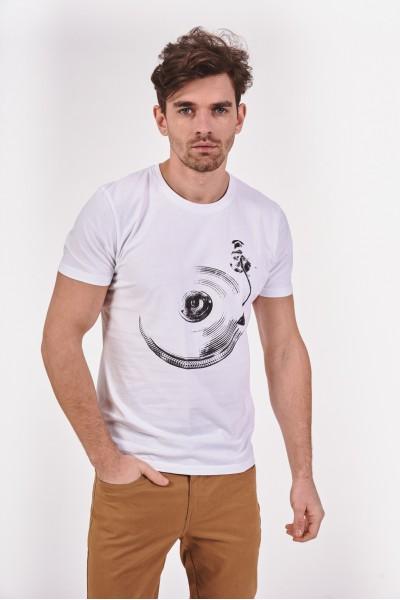 Koszulka z płytą winylową