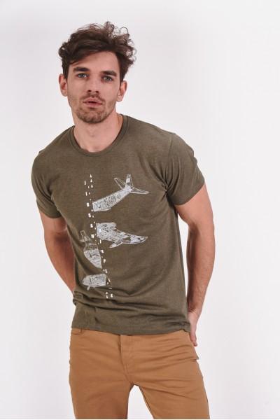 Koszulka z samolotem