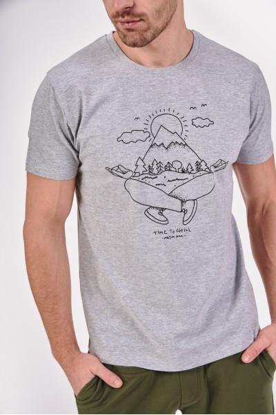 Koszulka z wakacyjnym nadrukiem