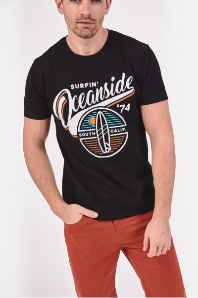 T-shirt z motywem surferskim