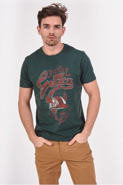 Koszulka ze sportową grafiką