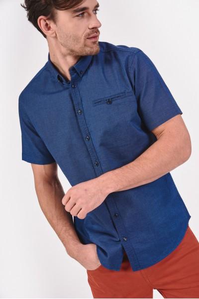 Koszula regular z krótkim rękawem