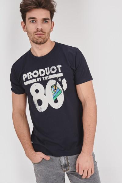 Koszulka z motywem lat 80-tych