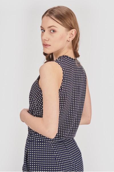 Elegancka bluzka z dekoltem V