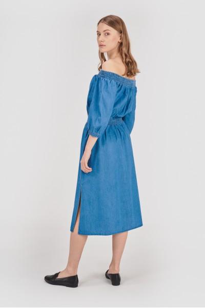 Bawełniana sukienka hiszpanka