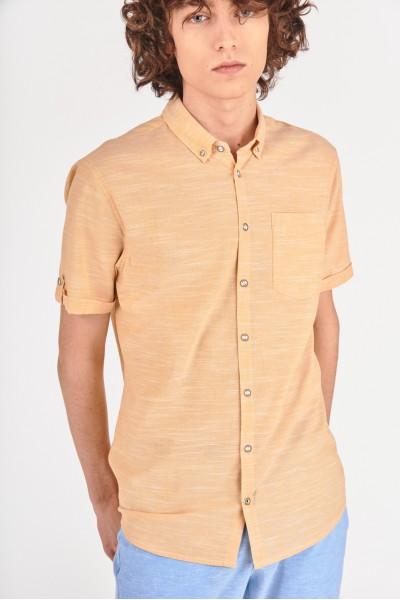 Koszula regular z kieszonką