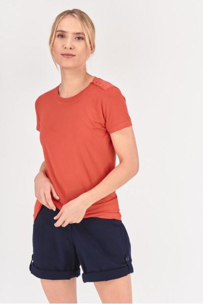 Wiskozowy t-shirt