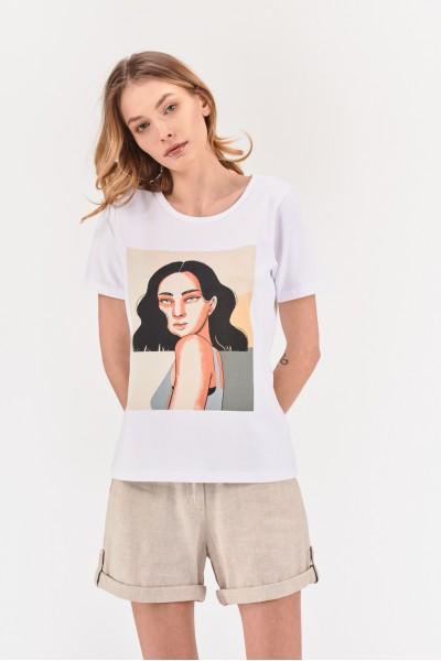 Koszulka damska