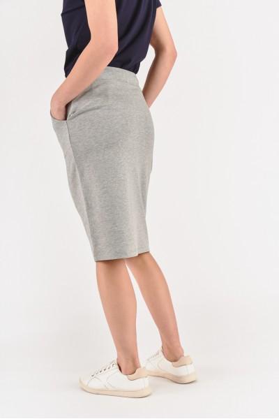 Dresowa dopasowana spódnica
