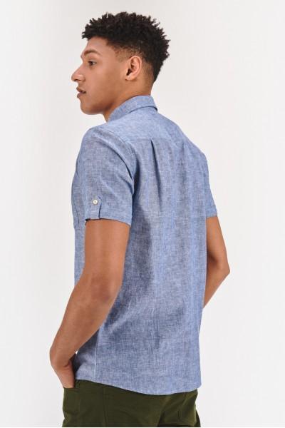 Lniana koszula regular