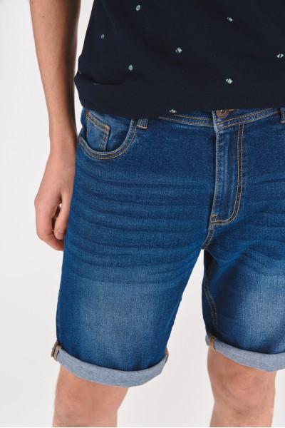 Dżinsowe szorty z normalnym stanem
