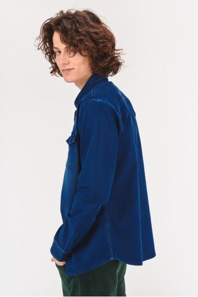 Koszula slim z kieszonkami