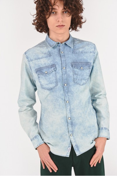 Dżinsowa koszula slim