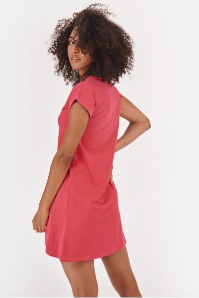 Sukienka mini z asymetrycznym dołem