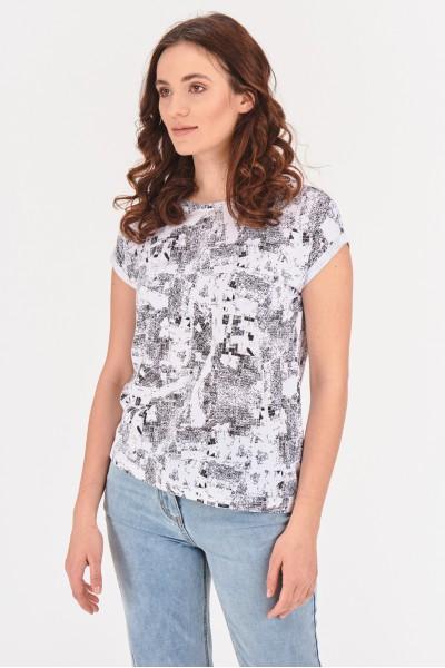 Wiskozowa koszulka
