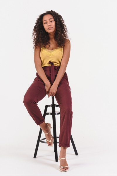 Spodnie z wiskozy