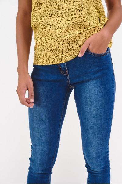 Dopasowane dżinsy