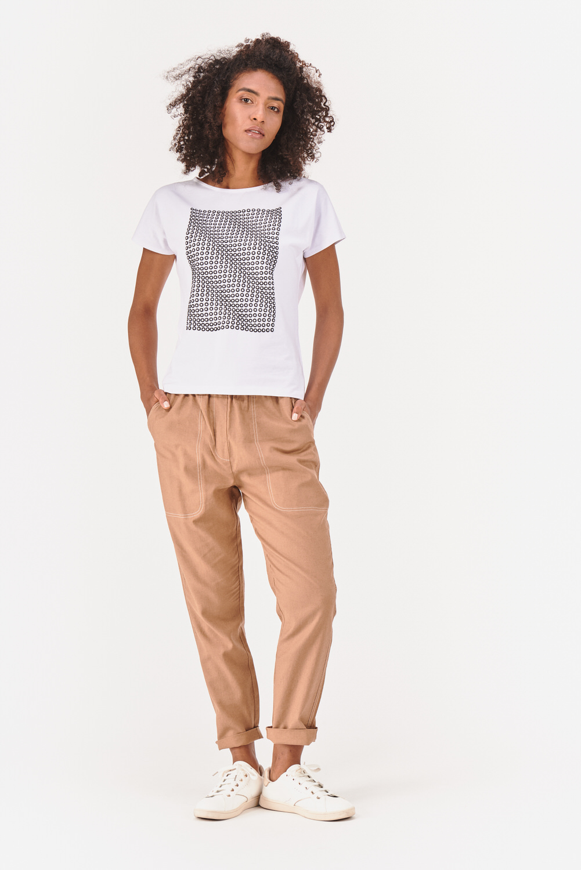 Lniane spodnie