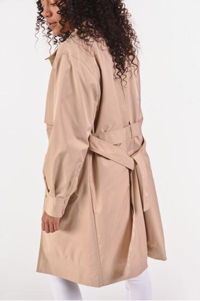 Wiosenny płaszcz z podszewką