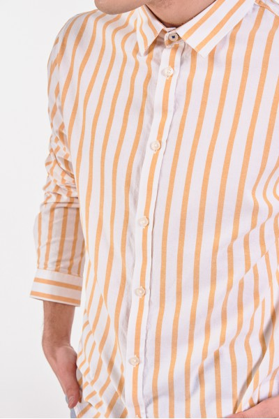 Koszula slim w pionowe paski