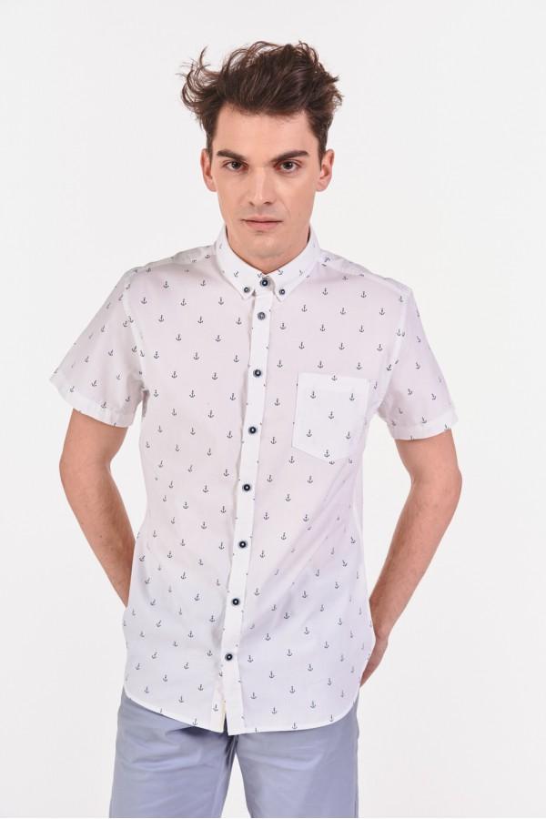 Koszula slim we wzór